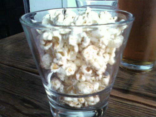 Bacon popcorn! i'm in heaven...