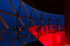 Blue & Red (mhels_13) Tags: night skylight blueandred ramil kuwaittower mhels13