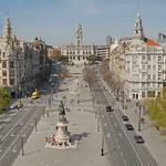 Porto: Avenida Aliados  de Cima