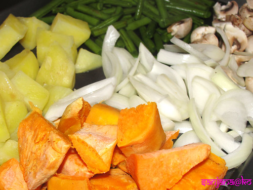 massaman curry veggies
