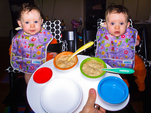 The Art of Feeding Twins