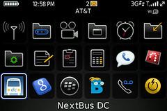 NextBus DC app