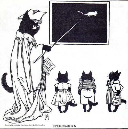 "Print of ""Kindergarten"", 1905 by tortuga2010."