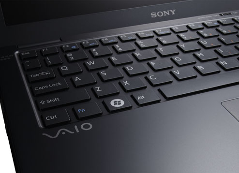 Photos of Vaio X Series 5