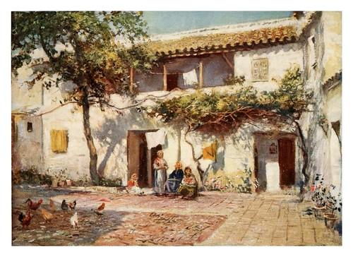 024-Córdoba-Antiguas casas cerca del Rio-Southern Spain 1908- Trevor Haddon