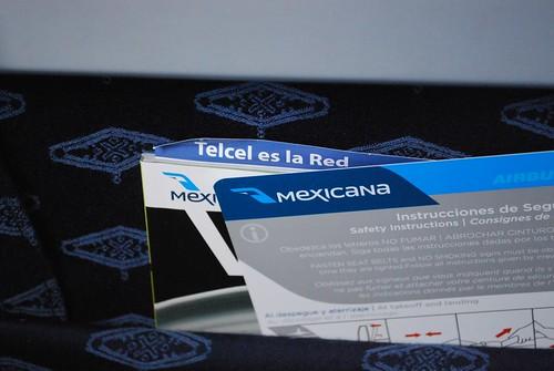 Mexicana's new branding