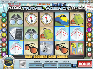 Baby Boomers Cash Cruise slot game online review