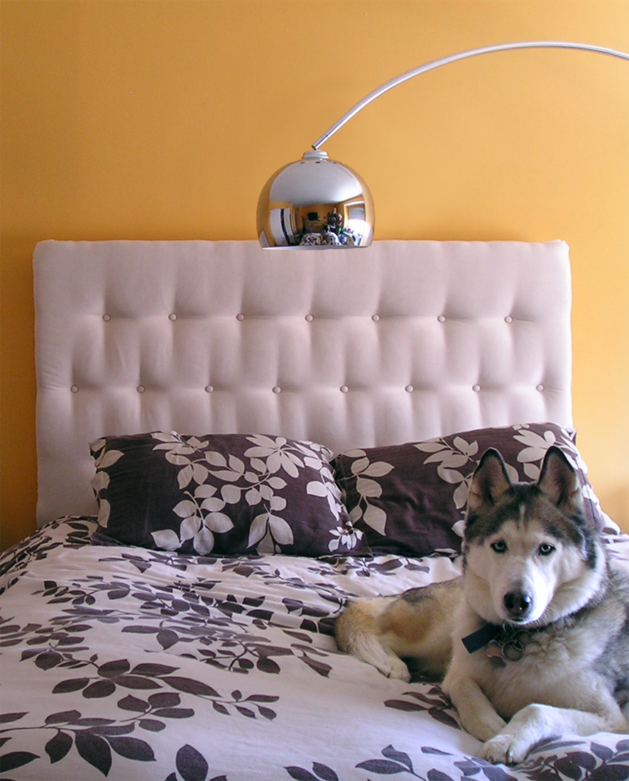 Remodelaholic Diy Upholstered Tufted Headboard Guest