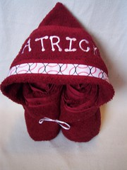 red baseballs (spiritofgiving) Tags: towels custom personalized hooded