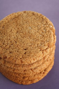 Sugar-Topped Molasses Spice Cookies -IMG_4878 t1 red