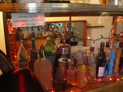 """Keep Out!"" Unless you are the Bartender"
