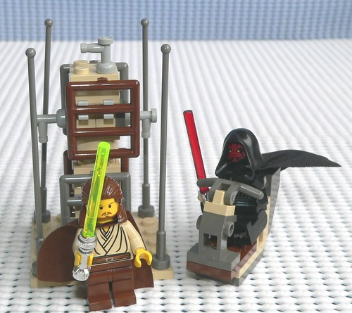 star wars qui gon jinn lightsaber. Star Wars Lego 7101 Lightsaber