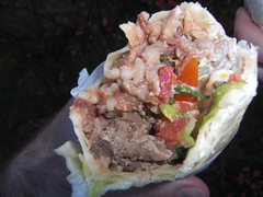 Carnitas Burrito from El Brasero