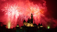 Disney Land Fireworks