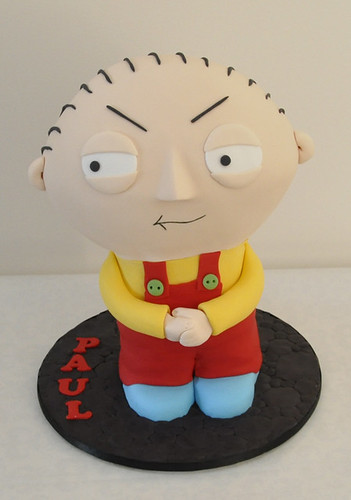 Stewie Cake for Paul