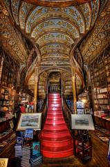 Lello e Irmao. (benitojuncal) Tags: portugal calle porto e irmão bookshop oporto irmao libreria lello livraria 144 carmelitas ilustrarportugal sérieouro