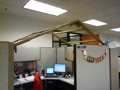 ... Inspiration Office Cubicle Roof