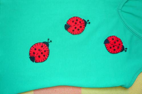 Camiseta Joaninhas
