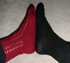 headera and my big foot