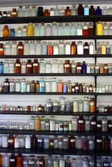 Edison's Jars (paperskye) Tags: vintage bottles laboratory jars greenfieldvillage edisoncomplex
