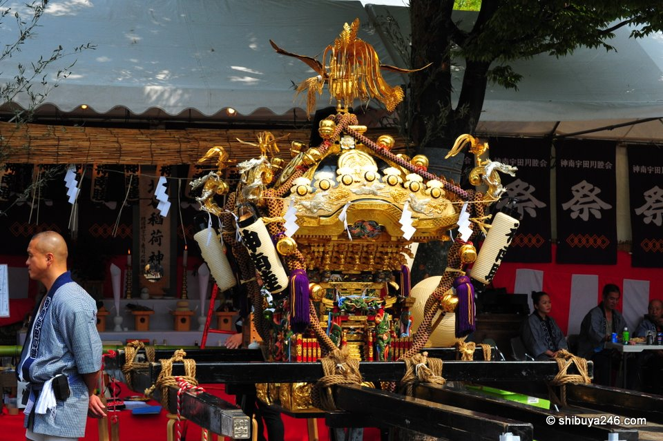O-mikoshi, (portable shrine)