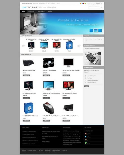 JM Topaz   Nice Magento online store