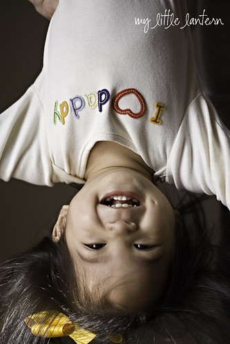 upside down girl 1