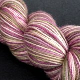 Valentine's Day Treat..~Strawberry Wine~ Champion BFL sock