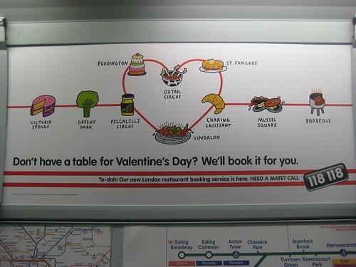 118 118 Valentine's ad