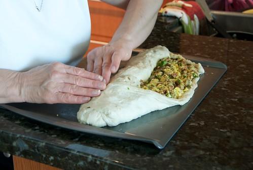 Italian sausage bread DSC_0007