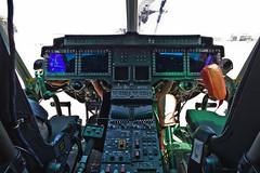 Glass cockpit of UH-1Y (eugene.photo) Tags: california usa june us sql airports sancarlos uh1y 166770 verticalchallenge2010