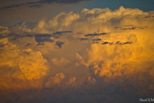 Nubes en Sevilla