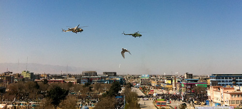Helicopters and Doves on Patrol