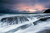 Whale Beach, Sydney, Australia (-yury-) Tags: ocean light sunset sea sky cloud seascape storm beach nature sunrise canon landscape photography sydney wave australia nsw mk2 5d whalebeach
