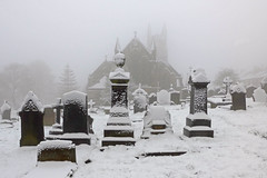 Snow in Queensbury