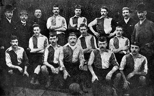 Newton Heath 1891/92 team photograph