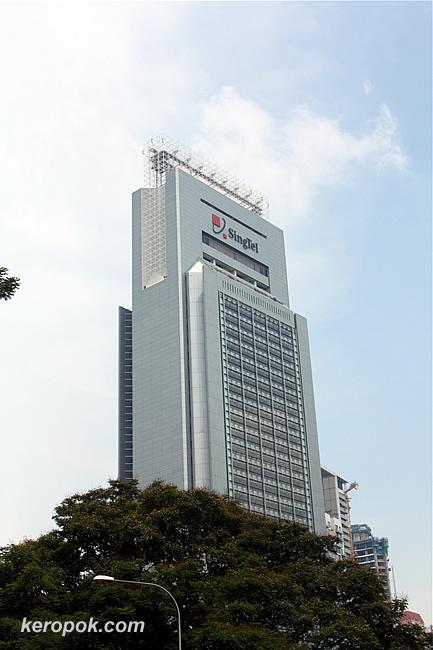 singtel building