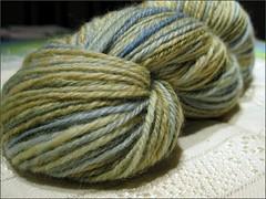 Seafoam yarn