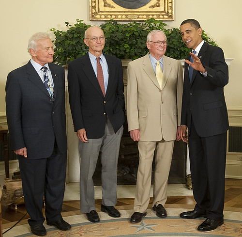 President Obama Meets with Crew of Apollo 11 (200907200016HQ)