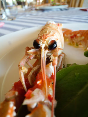 marinated crayfish