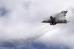 France - Air Force Dassault Rafale - RIAT 2009 (xnir) Tags: show france tattoo canon photography