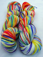 """Sometimes Speckled Wildflowers"" 8  oz *Presale* Shoestring Organic Merino"