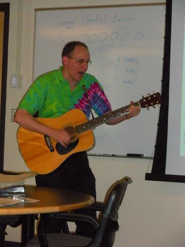 J.D. with guitar