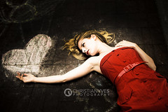 Fallen, In Love (christianyves) Tags: red portrait fashion vancouver nikon downtown dress krista nikkor 2470mm d700 2470mmf28gafs
