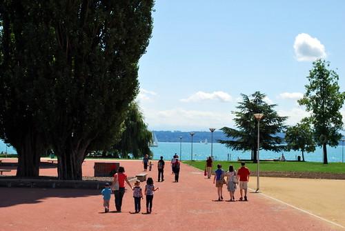 Sur les bords du lac de Neuchâtel