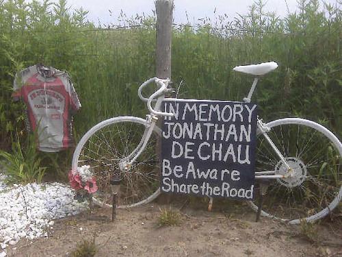 Jonathan Dechau Ghost Bike