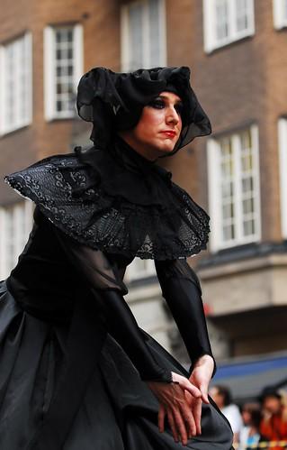 Somber Woman Posing