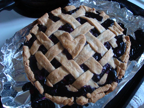blueberry pie #1