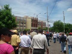 marcha hacia la Corte Suprema De Justicia 2 por Protesta