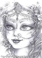 Krishna's Beloved Radharani - ISKCON desire tree (ISKCON Desire Tree) Tags: demon krishna radha vrndavana balaram iskcon putana devaki radharani kamsa bakasura aghasura